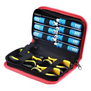 Venta al por mayor 10 unids set bola Enlace 10 en 1 RC destornillador de helicóptero alicates hexagonal manual Kits de herramientas de r