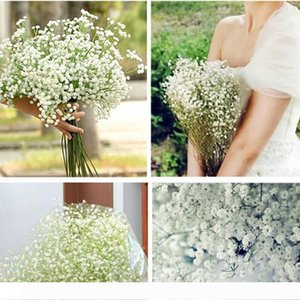 Fashion Gypsophila Baby's Breath Artificial Flowers Fake Silk Flowers Plant Home Wedding Decoration for Party
