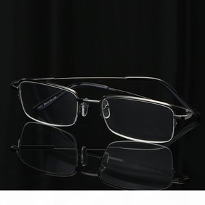 A Half Rim Metal Glasses For Reading Quality Readers Men And Women Ultralight Reading Glass Memory Metal +1 .0 +1 .5 +2 .0dr3571