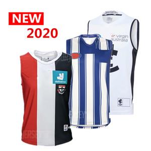 2020, tous les Jersey AFL Carlton Blues Richmond Tigers Adelaide Crows côte ouest aigles géants GWS chemise Collingwood St Kilda SAINTS