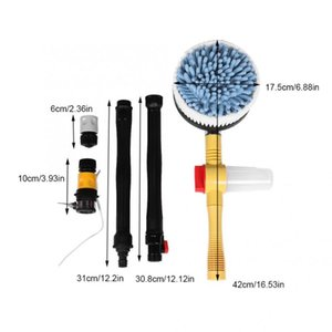 Oversea High Pressure Rotating Car Care Wash Brush Cleaning Washing Sponge Tool brush set PP