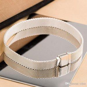 прибытие 925 Sterling Silver Reflexions БРАСЛЕТ Set Первоначально коробка для цепи браслеты Pandora NEW рук для женщин Mens