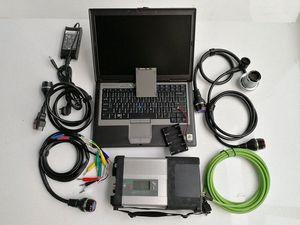 Новый! DoIP MB SD Connect C5 с программным обеспечением 2019,05 SSD Mb C5 Star Diagnostic Tool 12v + 24v Vediamo / X / DAS / DTS с D630 Laptop dUon #