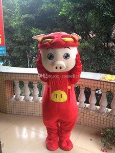Pig swine happy pig cartoon dolls mascot costumes props costumes Halloween free shipping