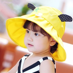 2020 empty 2020 cap children's s middle and large children's cool foldable sun hat outdoor sunscreen beach hat