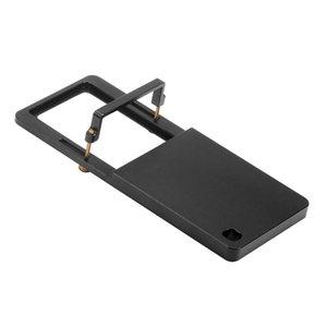 CNC de aluminio Estabilizador Conversión férula adaptador del accesorio del cardán clip para Zhiyun Feiyu GOPRO Deportes leva de la cámara de piezas de repuesto