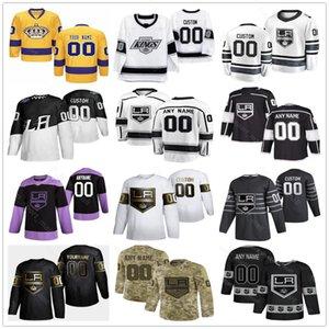 Los Angeles King Jerseys Mens Women Kid Wayne Gretzky Adrian Kempe Dustin Brown Kyle Clifford Tyler Toffoli Dionne Hockey Custom Jerseys