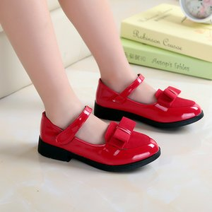 Baby Girl Sandals Leather Leisure Toddler Kids Shoes Sandals Fashion Leisure Girls Sneakers Bow-Knot Child Princess Flat Shoes Y200619