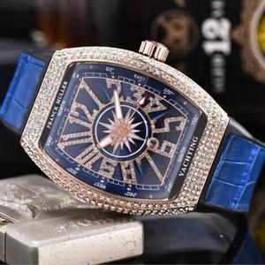 Oro RM para hombre relojes automáticos para hombre del diseñador watchesIced fuera de lujo de Diamond Fecha de diseñadores famosos de pulsera informal L Hombres