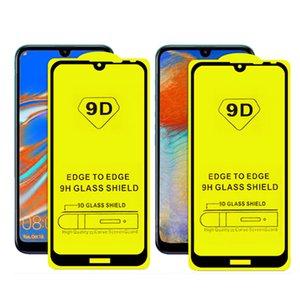 شاشة 9D كاملة الغراء الزجاج المقسى حامي لسامسونج M11 / M21 / M31 / M51 / A10 / A50 / A70 / A90 / A70S / M10 / M20