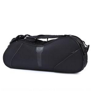 WEAYLEEY zaino 6 monodosi spalla batuffolo sacchetto racchetta badminton 6 confezioni sacchetto racchetta da tennis