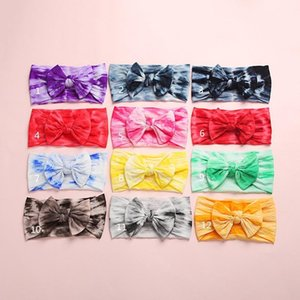 Baby Girl Headbands and Bows Classic Knot Nylon Headwrap Super Soft Stretchy Nylon Hair bands for Newborn Toddler Children