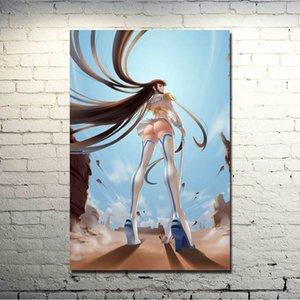 Kill la Kill Matoi Ryuuko arte anime del tessuto di seta poster Stampa 13x20 32x48 pollici Immagini Per Room Decor regalo di natale 023