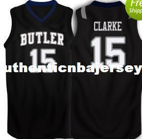 Cheap #15 Rotnei Clarke Butler Bulldogs Basketball Jersey College Throwbacks Stitched Jerseys Shirt Custom any Number ,Name and Size