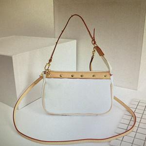 M92649 Crossbody Totes Borsa superiore di modo Mono borse Borse Rivet VINTAGE Borsa delle donne classiche borse a spalla del cuoio genuino 92649