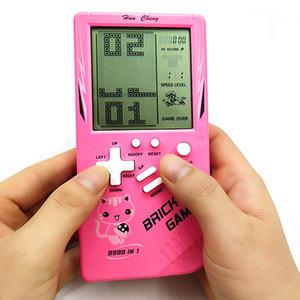 휴대용 퍼즐 게임 콘솔 테트리스 핸드 헬드 게임 플레이어의 LCD 화면 전자 게임 완구 포켓 어린이 장난감 선물