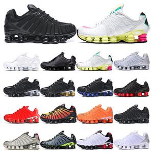Nike shox TL Mens ayakkabı Shox TL ayakkabılar siyah beyaz Metalik toplam turuncu Viotech volt Hız Kırmızı Neymar spor eğitmenleri Açık womens şafağa