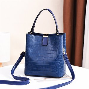 Handbags Purses Fashion Cowhide Bucket Handbag Tote Bag Women'S Shoulder Bags Backpack Women Bags Handbags N40153#641