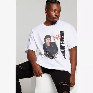 Michael Jackson Michael Jackson camiseta mún viaje camiseta retro roca suspense El Rey del Pop Michael Jackson recuerdo Camiseta