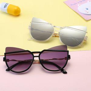 Gafas de sol gafas de sol sunglassesglasses personalizada de los niños de los niños de los ojos del sol 2019 de Nueva gato de la manera