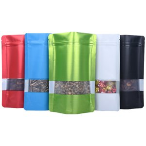 Storage Plastic Bag Food Packaging Container Smell Proof Bags Aluminum Foil Self Sealing Organizer Snack Transparent Belt Oblong 54 8jh C2