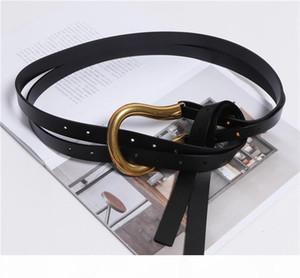 E 2019 Women &#039 ;S Belts Big Buckle Leather Belts For Women 5 Colors Belt Women Waist