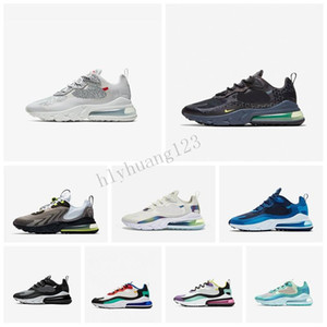 Nike Air Max 270 React 27c Reagieren Herren Training Triple-Bauhaus Optical Anthrazit Phantom hyper Jade Frauen Designer Outdoor-Sport-Trainer-Schuhe Schuhe Z1