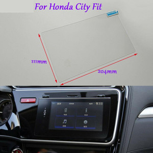 Internal Accessories For Honda City Car GPS Navigation Screen Glass Clear Protective Film 8 inch