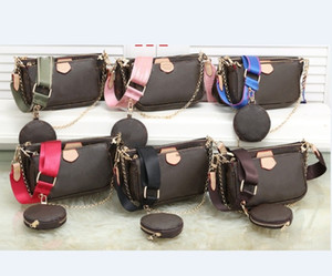 2020 نمط جديد من نوعية ممتازة على الموضة للنساء حقائب فاخرة سيدة PU حقائب حقائب اليد الجلدية العلامة التجارية عبر هيئة كيس عملة محفظة الشحن المجاني
