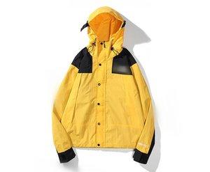 2020 Men Women Jackets Coat Sweatshirt Hoodie Long Sleeve hooded Sports Zipper Windbreaker outdoor Mens Clothes Hoodies Mountain Parka