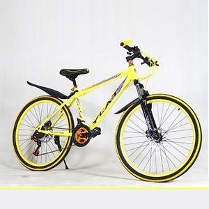 Mountainbike Hoge Kwaliteit Carbon Staal Materialen 21 Speed 22 Inch Variabele Snelheid Dubbele Schijf Demping