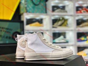 Yeni Çizgili KAPALI Chuck 70 beyaz göz alıcı turuncu Shoelaces Taylor 1970'lerde erkek ve bayan koşu ayakkabıları moda rahat ayakkabılar tuvale kırmızı
