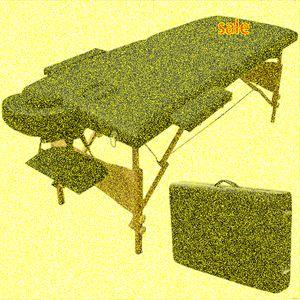 Tabla portable de masaje SPA facial cama Carry tatuaje libre de la caja Negro GoPlus 84L dracohalcón tatuaje Silla eléctrica de tatuaje de Bawanbian, Lpxz #