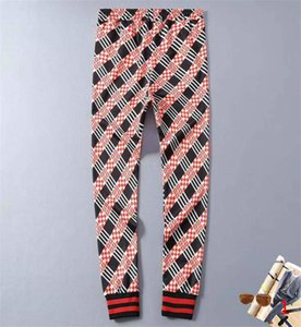 New Stylish Mens Pants Track Striped Drawstring Sport Pants Casual Joggers Trouse Sweatpants Asian Size M-3XL