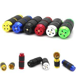 Gaz Cracker N2O Alüminyum Cracker ile Kauçuk Tutma Renkli Krem kırbaç Mini Dağıtıcı Krem kırbaç Şarj Şişe Açıcı DHF241