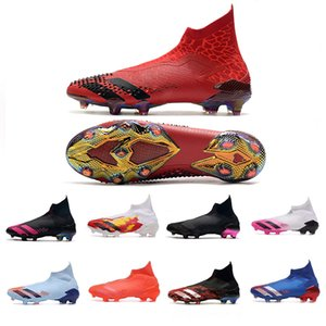 Predator 20+ FG mutateur de base Noir Football Crampons Shadowbeast DEMONSKIN Tourmenteur Laceless Reuben Dangoor volume moyen quotidien de dragon noir Mouvement Shock Rose