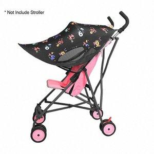 Cochecito de bebé Widen Parasol Toldo Imprimir paraguas del pabellón Cochecito Parasol Cubierta KuHM #