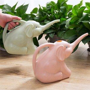 Sevimli Benzersiz Fil Buzağı Şekli Uzun Ağız Çiçek Sulama Can Garden Bitkiler Yağmurlama Pot Gadget Garden 3 Renkler P7W0 # Malzemeleri
