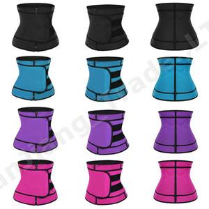 Unisex talladora de la cintura ajustable Marca Verano talladora de la cintura que adelgaza las correas Trainer Mujer Hombre Fajas auxiliares de la pretina de Deportes A42308