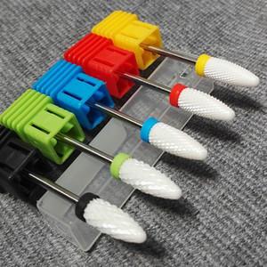 1pcs de haute qualité Drill à ongles en céramique Bits Fraise Manucure Nail Art perceuse électrique Outils de manucure machine