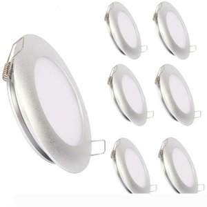 """Topoch PWM Dimming Ceiling Lights for Bathroom Dining Room 6-Pack 12V 3.5"""" 5W Spring Clip MountAluminum Low Profile Space Saving Downli"""