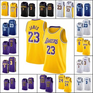 Los AngelesLakersKobeBryantMen LeBron James AnthonyDavisNBA New 2020 Basketball Jersey