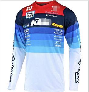 KTM Geschwindigkeit Gabe Offroad-T-Shirt Polyester schnell trocknend des Radtrikot Top-Männer langärmliger Sommer Mountainbike Off-Road-Motorrad-c