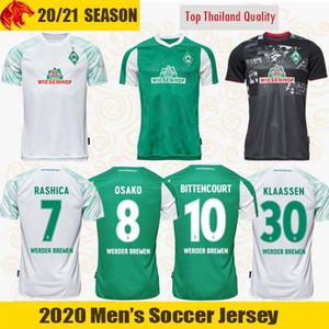 20 21 Werder Bremen Camiseta de fútbol FULLKRUG EGGESTEIN 2020 2021 Camiseta de fútbol Werder Bremen OSAKO Camiseta BITTENCOURT RASHICA KLAASSEN Camiseta