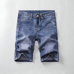mens ripped jeans short Mens Designer Summer Shorts Pants luxury Ripped Cool Guy Jeans Fashion Biker Pants printing rock revival short