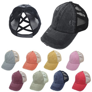 10 Colors Mens Womens Cap Retro Mesh Peaked Cap Male Female Sun Hat Fashion Baseball Caps Hats Hip Hop Ball Caps Men Hats