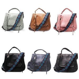 DOMIL Skylar Guitar Strap Crossbody Bag Women Crossbody Shoulder Bag Hand Bags Vintage PU Cross Body Purse DOM-108582