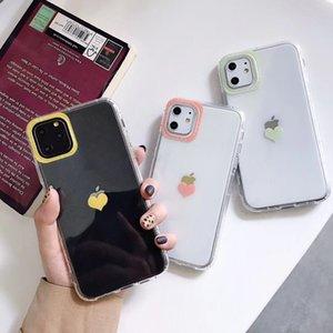 Lovebay Aşk Kalp Şeffaf Kılıf IPhone 11 Pro X XR XS Max 7 8 Artı Darbeye Tampon Telefon Kılıfı Yumuşak TPU Koruma Arka Kapak için