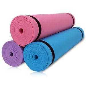 4MM EVA Yoga Mats Anti-slip Blanket EVA Gymnastic Sport Health Indoor Lose Weight Fitness Exercise Pad Women Sport Yoga Mat New
