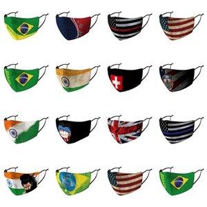 Арабских Маски Cotton Arab Королевство Флаги Скидка Обложка Нос Грот Страна Австралия Индивидуально ткань Страна Объединенные Маски Упакованный meDgK
